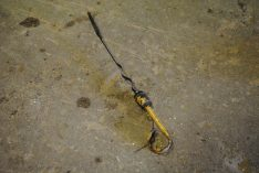 Dipstick 87801533 - Ford 555B Backhoe