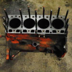 Engine Block - Case G188 Gas engine, Case 1737 Skid Steer